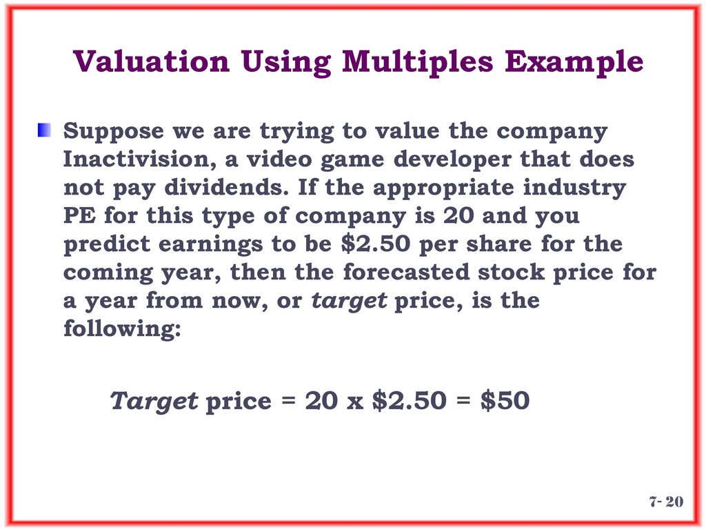 Chapter 7 Lecture - Equity Markets and Stock Valuation - ppt