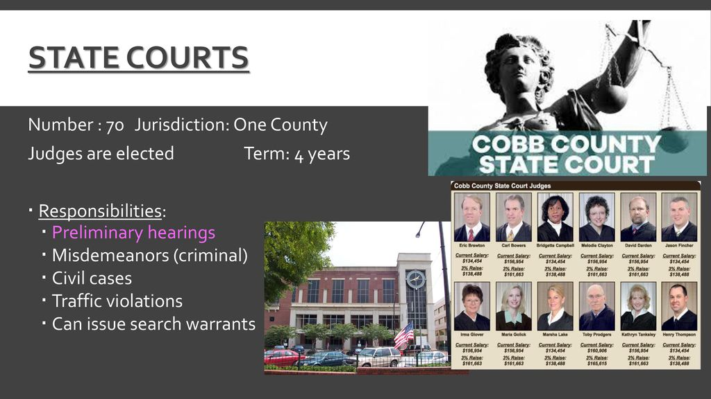 The Structure of Georgia's Court System - ppt download