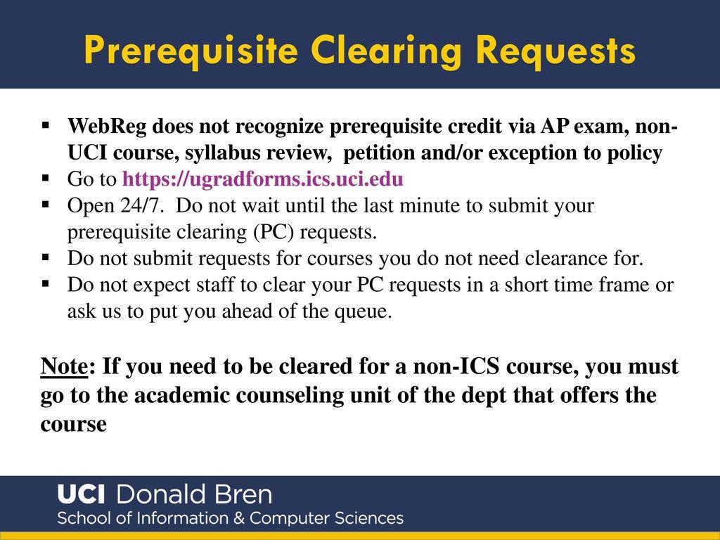 Uci math 2b prerequisites