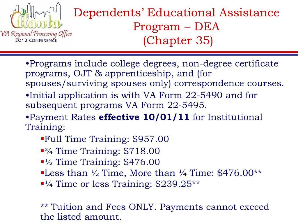 EDUCATION BENEFIT PROGRAMS - ppt download