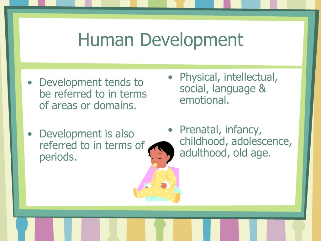 infancy childhood adolescence adulthood