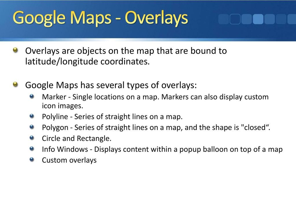 ISC440: Web Programming 2 Web APIs Google Maps API - ppt
