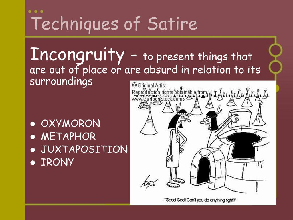 An Introduction To Satire Ppt Download