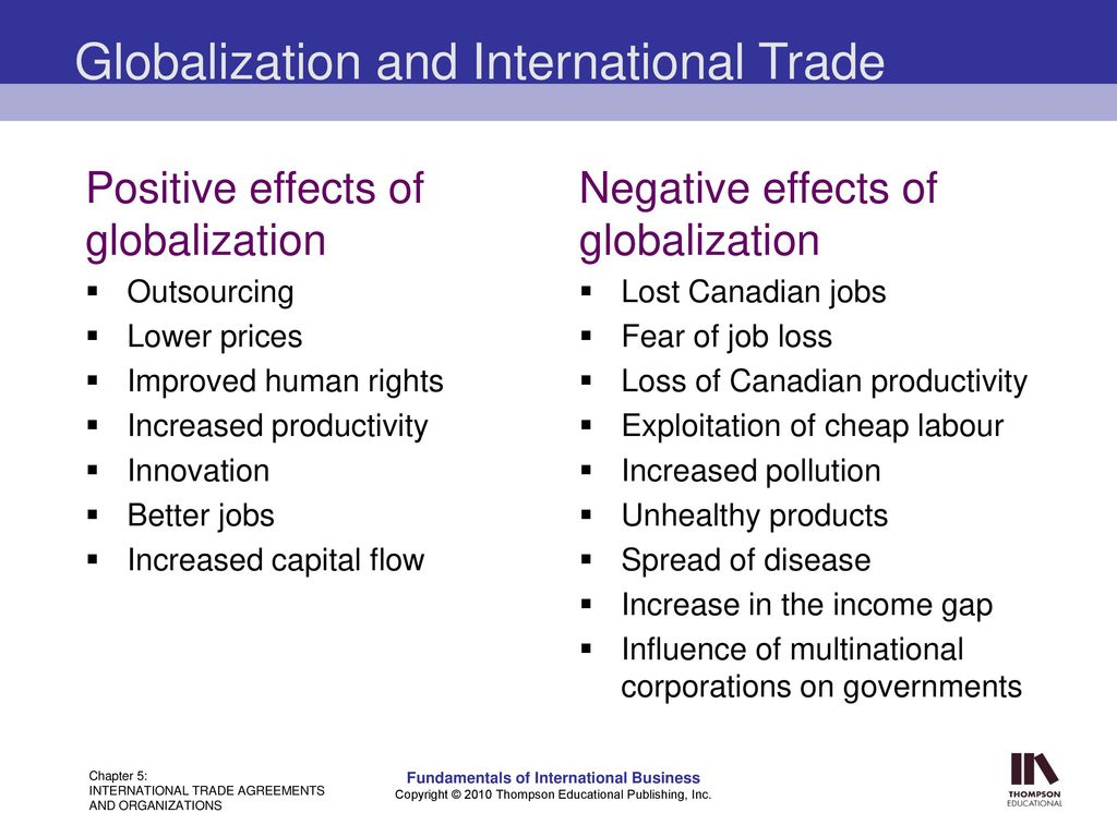 a review of the positive effects of globalization Our era is witnessing an increasing impact of globalization on self and identity and at the same time a growing uncertainty the experience of uncertainty motivates individ.