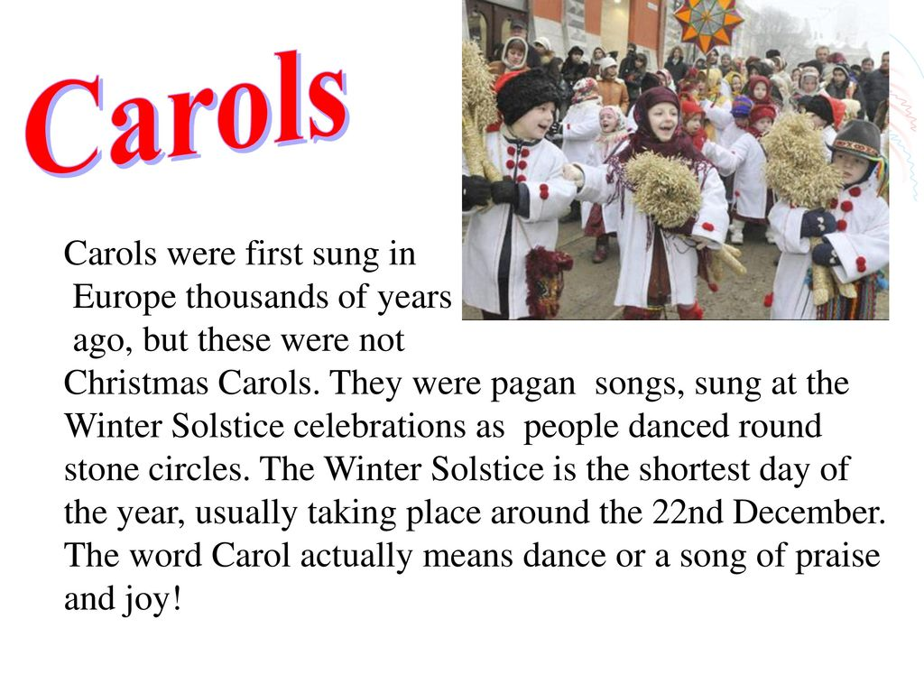 Christmas Traditions in Great Britain - ppt download