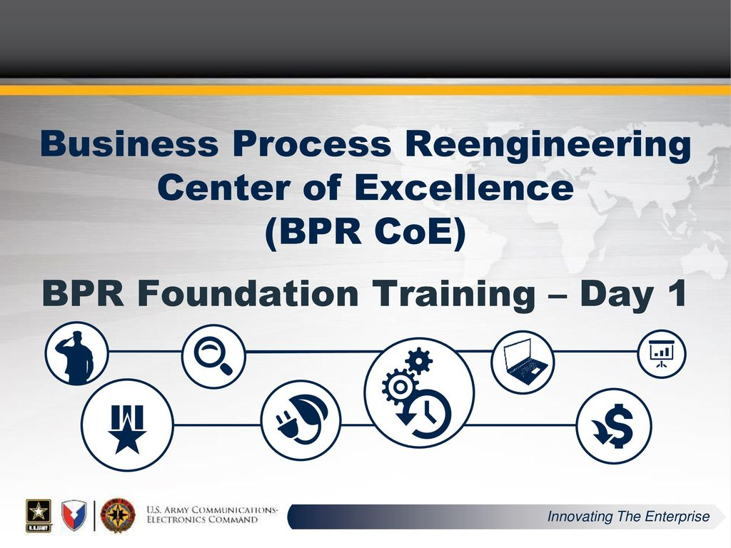 business process reengineering center of excellence bpr coe