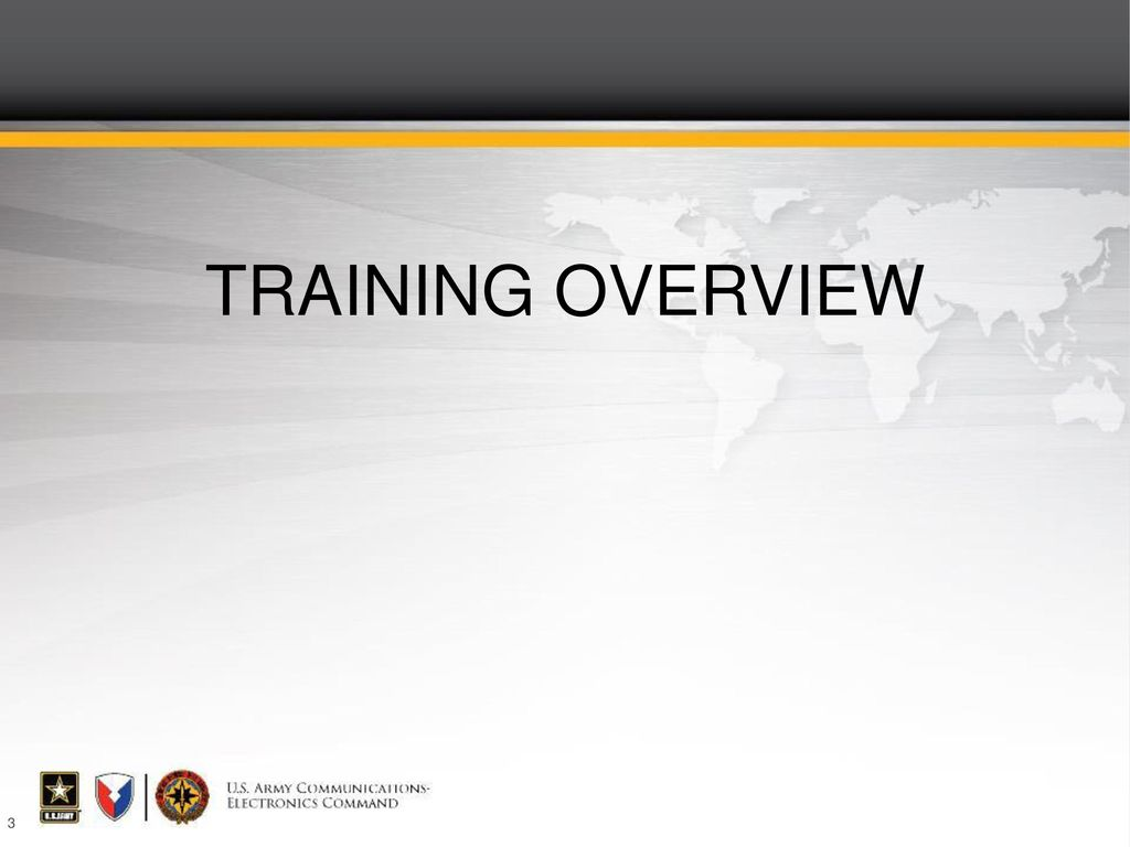 training overview crystal talking points