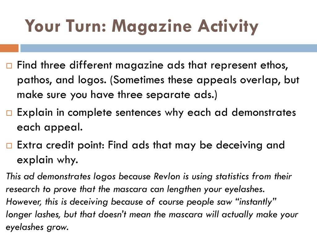 magazine ads using pathos