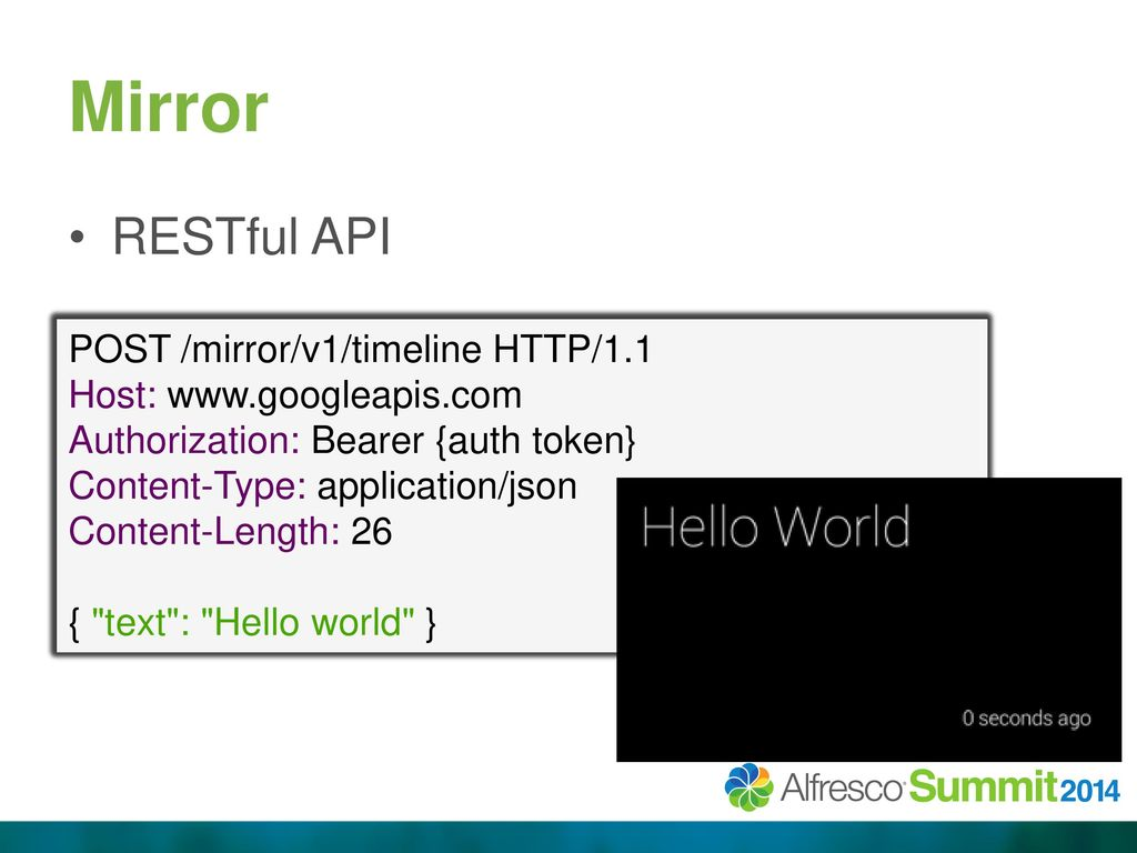 Google Glass Developing for Glass & Alfresco  - ppt download