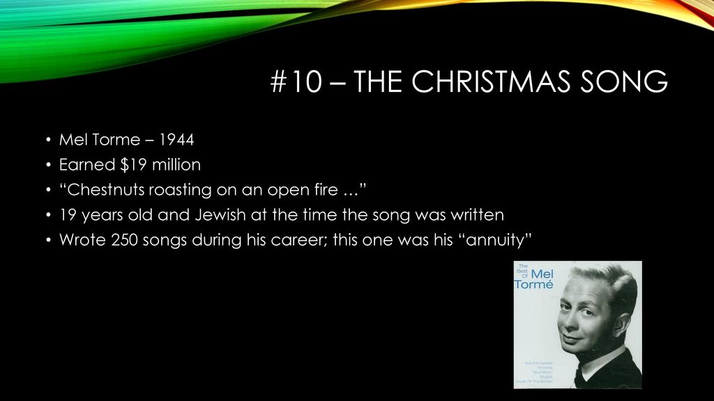 Top 10 richest songs. - ppt download