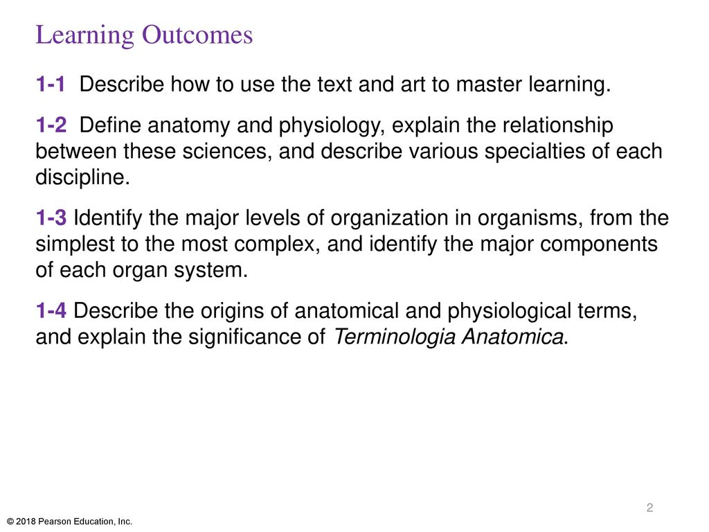 Fundamentals of Anatomy & Physiology - ppt download