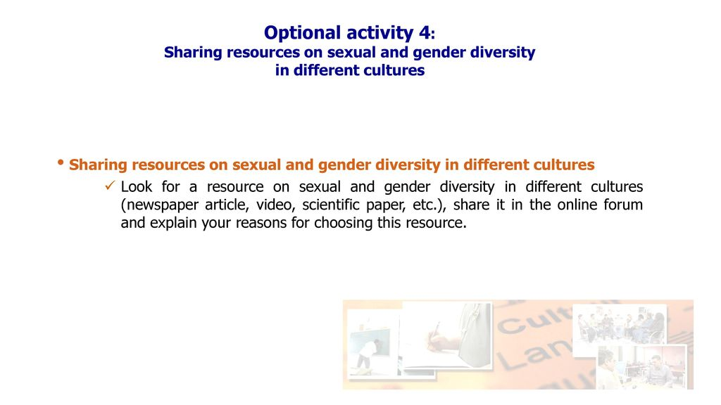 Gender sexuality different cultures