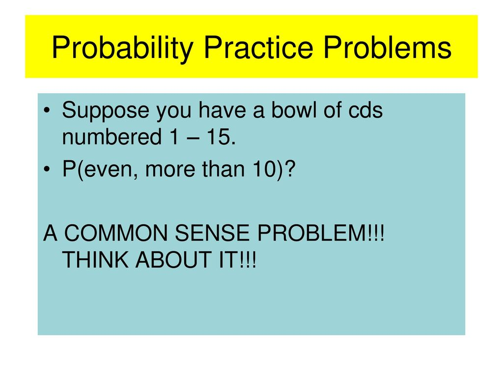 CHAPTER 12: PROBABILITY AND STATISTICS - ppt download