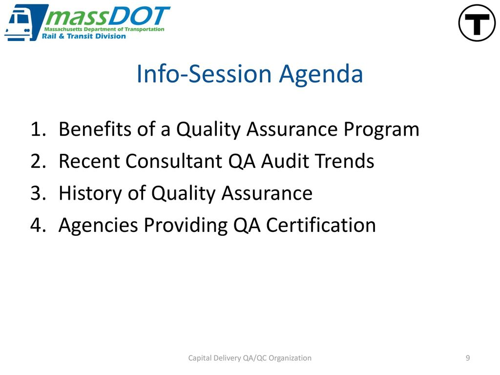 Mbta Consultants Quality Assurance Info Session Ppt Download