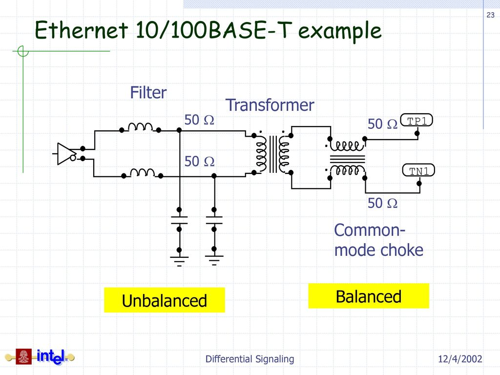 Differential signaling ppt download 23 ethernet publicscrutiny Images