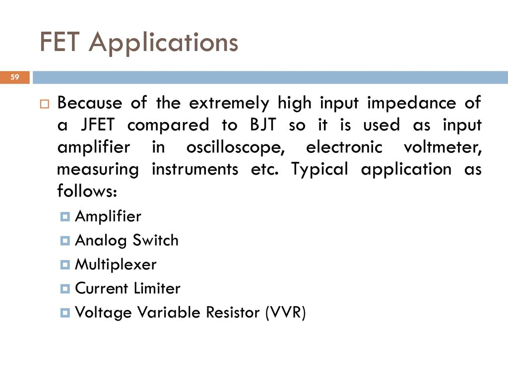 Analog And Digital Electronics Ppt Download Fet As A Switch Working Of Mosfet Or Jfet Applications
