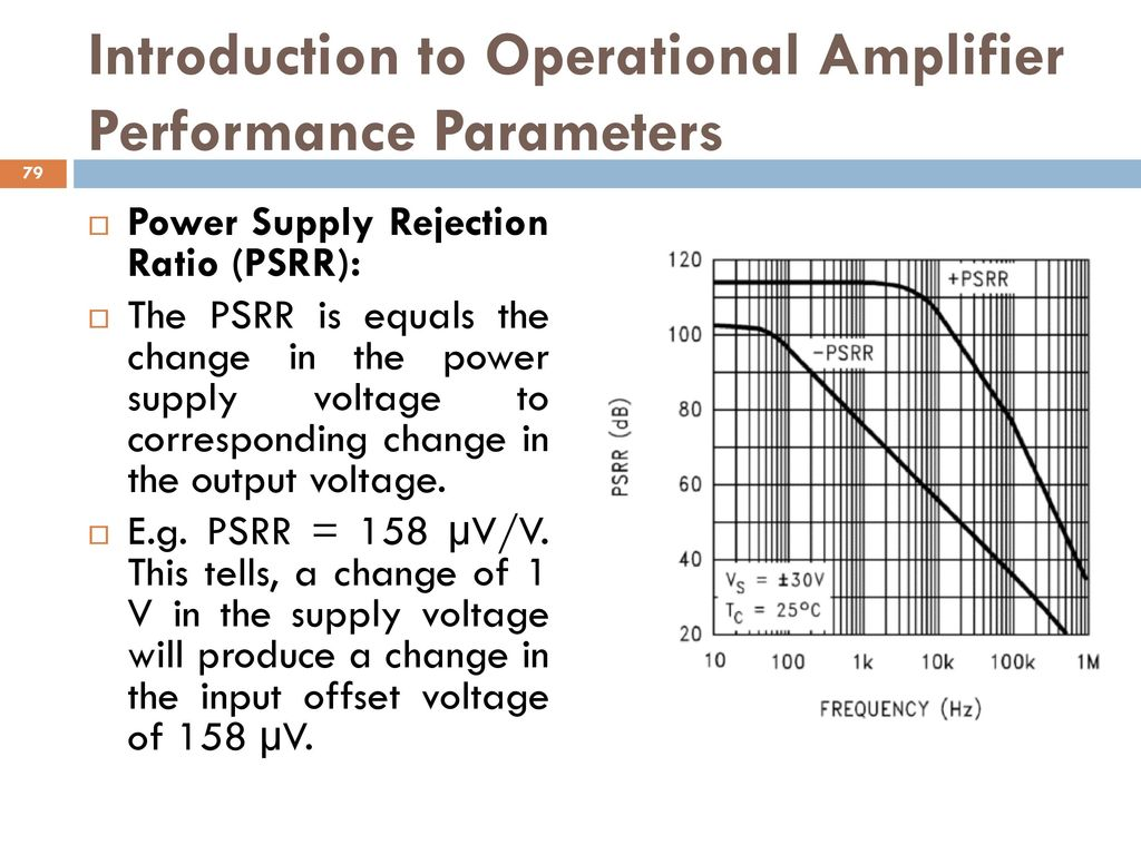 Analog And Digital Electronics Ppt Download Op Amp How To Cut Power Off When A Certain Voltage From Sensor Is Introduction Operational Amplifier Performance Parameters