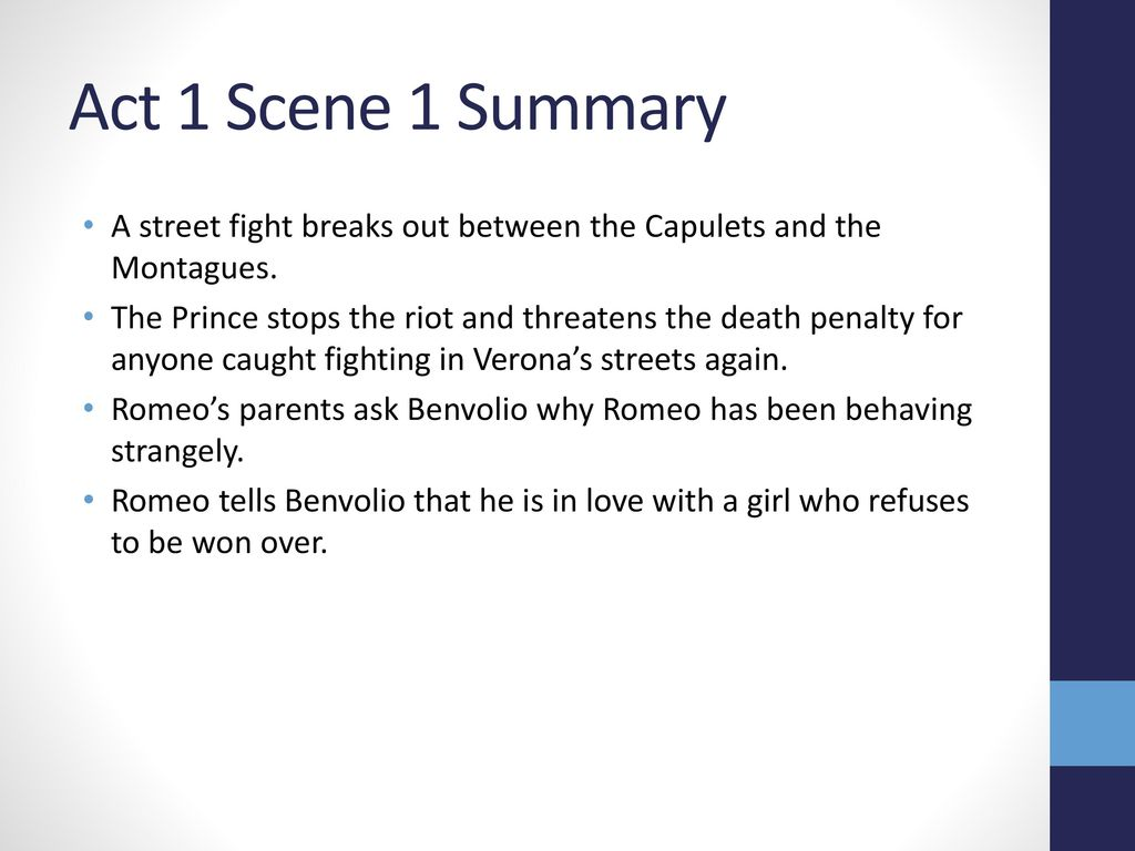 why do the montagues and capulets fight