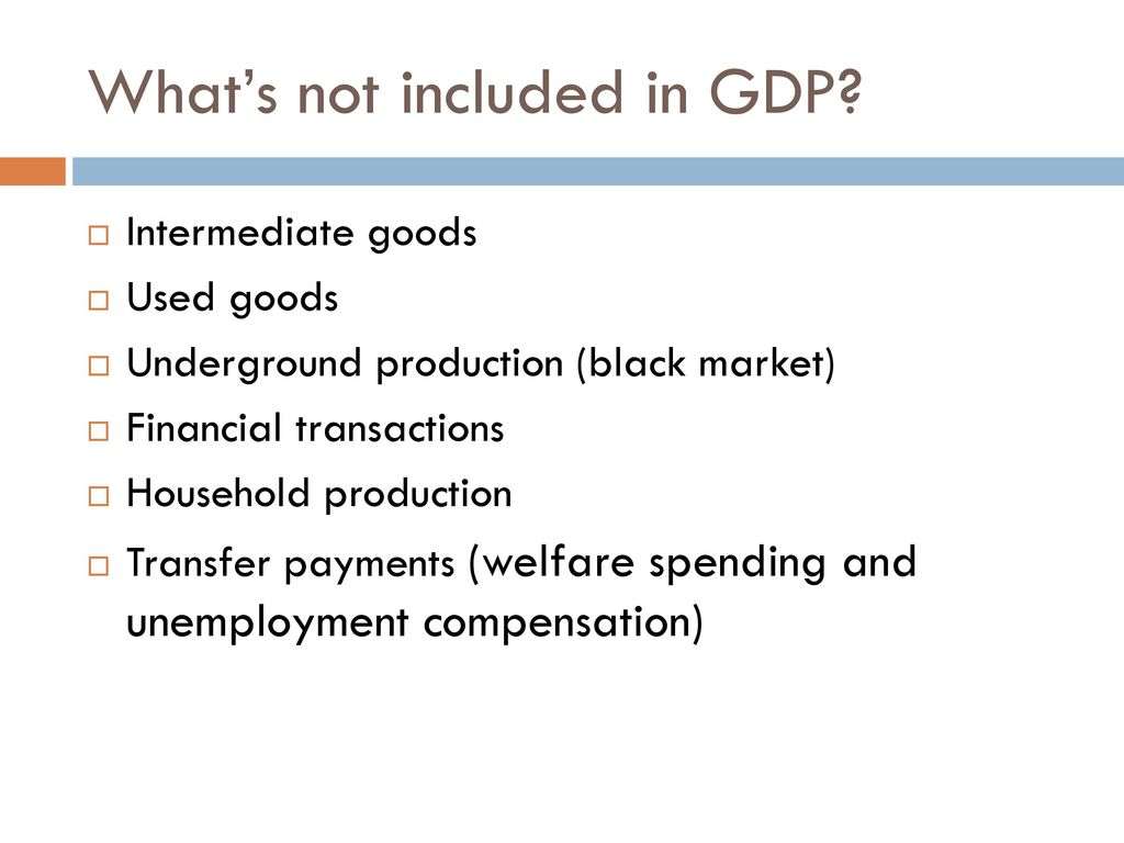 Why intermediate goods and services are not included in gdp — photo 1