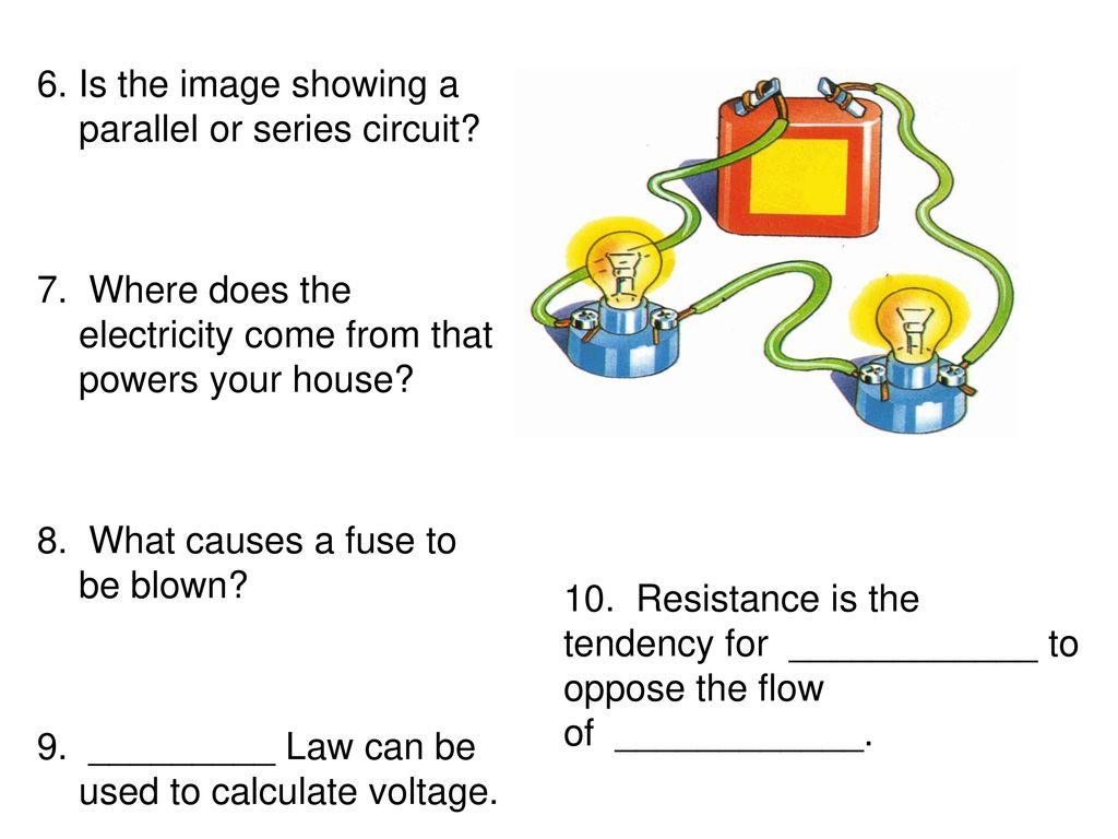 Chapter 7 Section Ppt Download Circuit In Parallel And Series Is The Image Showing A Or