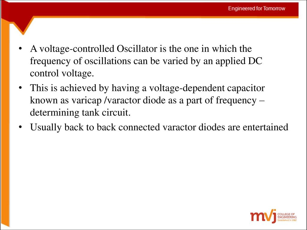 6sinosoidal Oscillators And Wave Shaping Circuits Ppt Download For The Circuit Also Determine Frequency Of Oscillations A Voltage Controlled Oscillator Is One In Which Can Be
