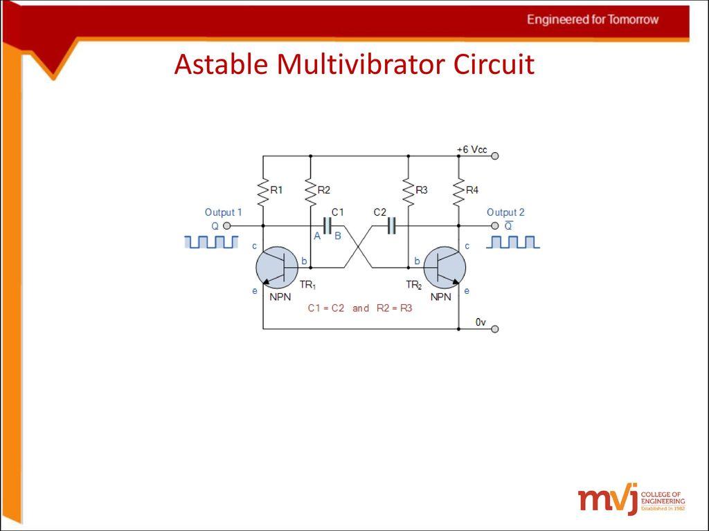 6sinosoidal Oscillators And Wave Shaping Circuits Ppt Download Astable Multivibrator Circuit 28