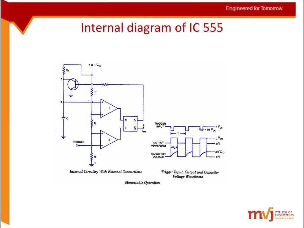 6sinosoidal Oscillators And Wave Shaping Circuits Ppt Download Ic 555 Diagram 36 Internal Of