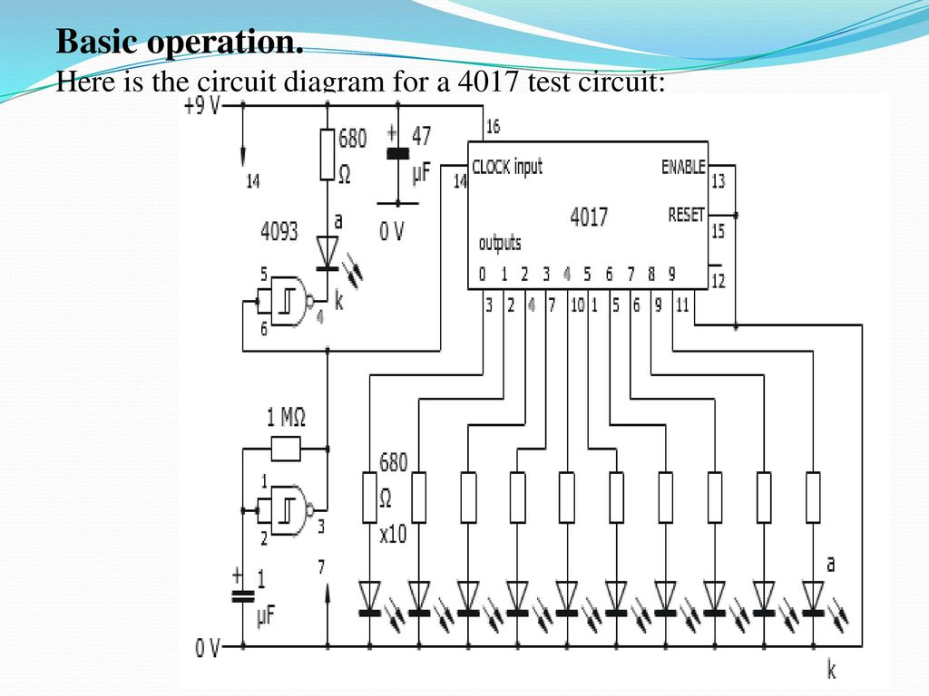 Music Tone Based Dancing Leds Ppt Download Circuit Diagram Test Here Is The For A 4017