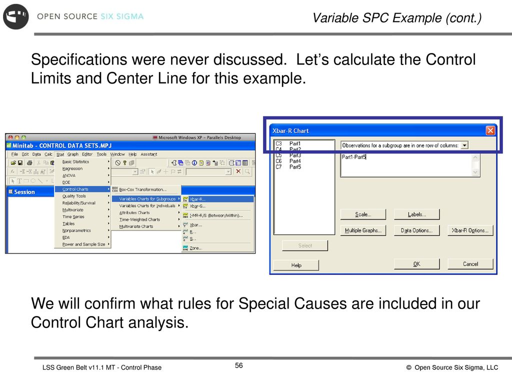 Control Phase Statistical Process Control - ppt download
