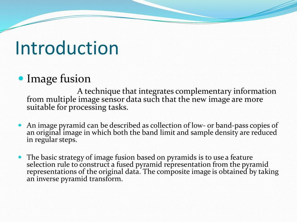 MAIN PROJECT IMAGE FUSION USING MATLAB - ppt download
