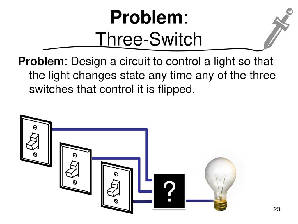 Cpsc 121 Models Of Computation 2016w2 Ppt Download Switch Wizard 3way Electrical Wiring Tester Problem Two