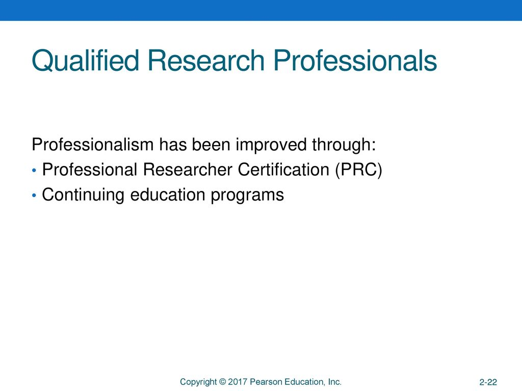 The Marketing Research Industry - ppt download