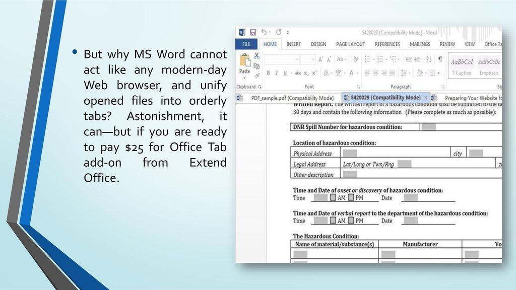 ms word compatibility mode