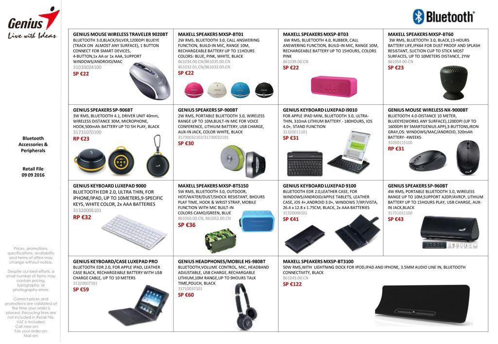 Accessories & Peripherals - ppt download
