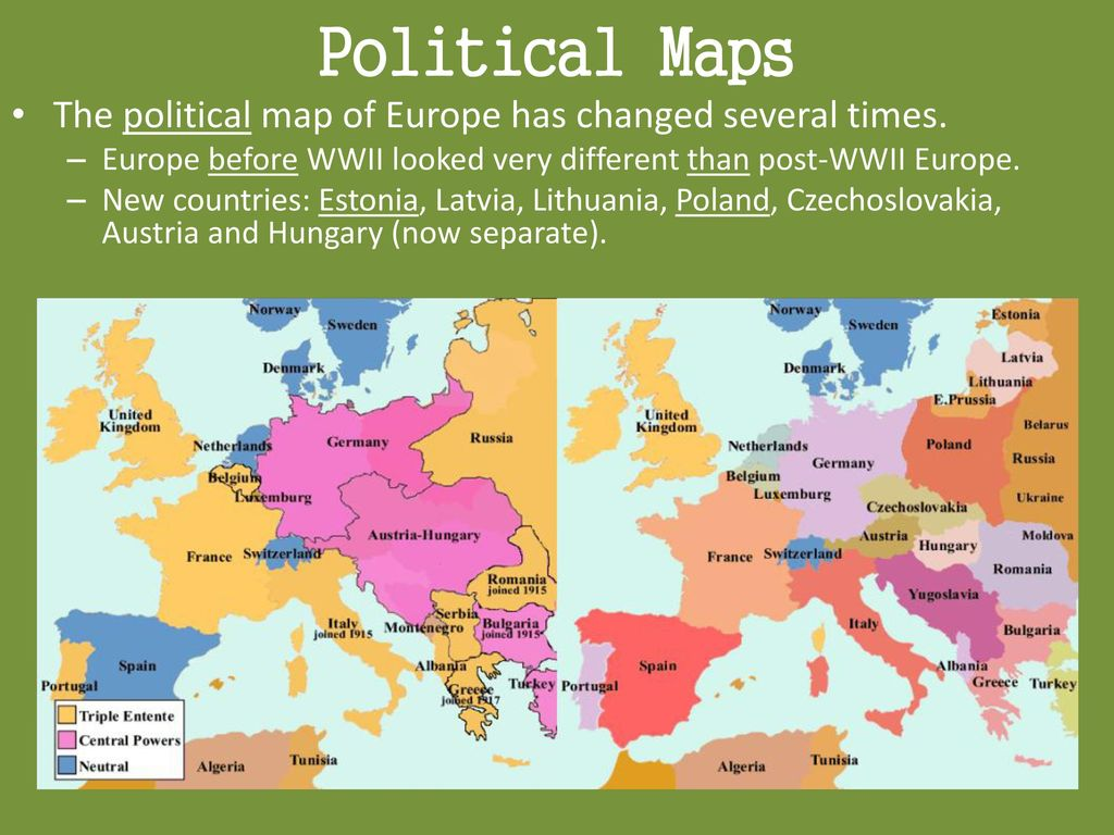Economic & Political Characteristics of Europe   ppt download