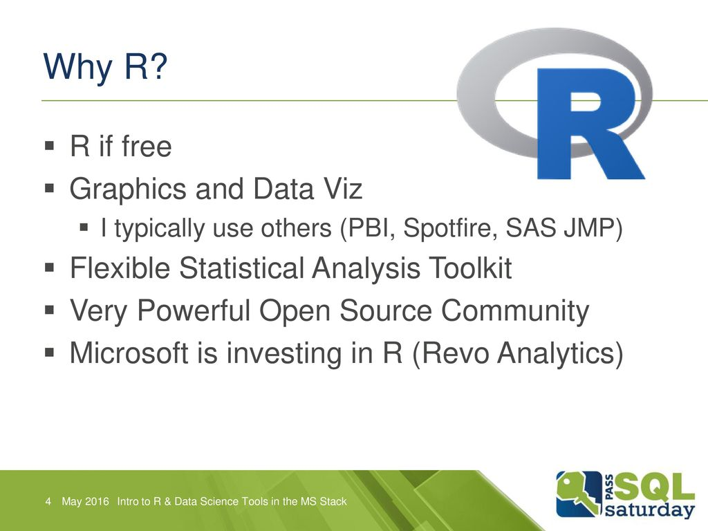 Introduction to R and Data Science Tools in the Microsoft