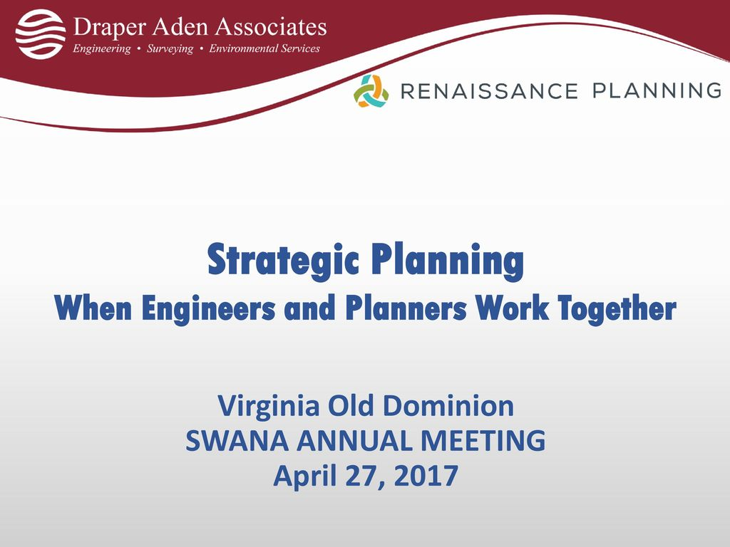 strategic planning when engineers and planners work together ppt