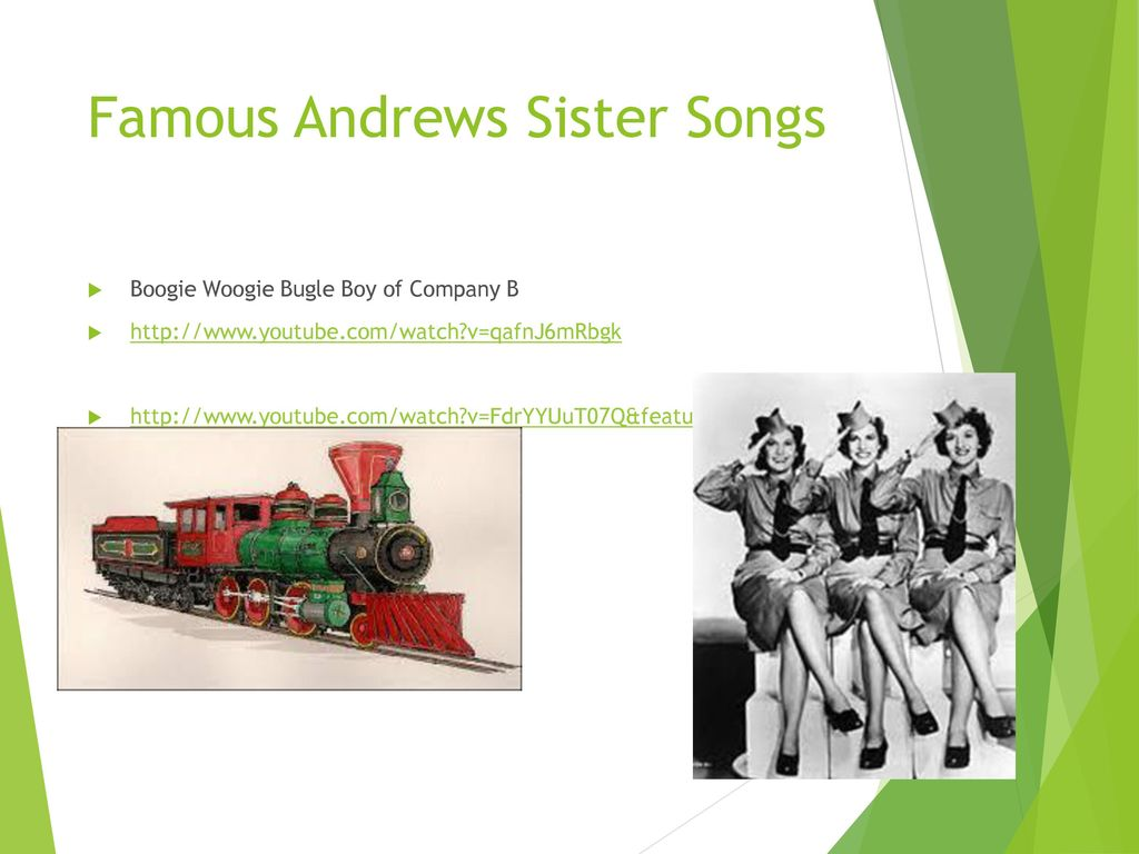 Music of the 1940's  - ppt download