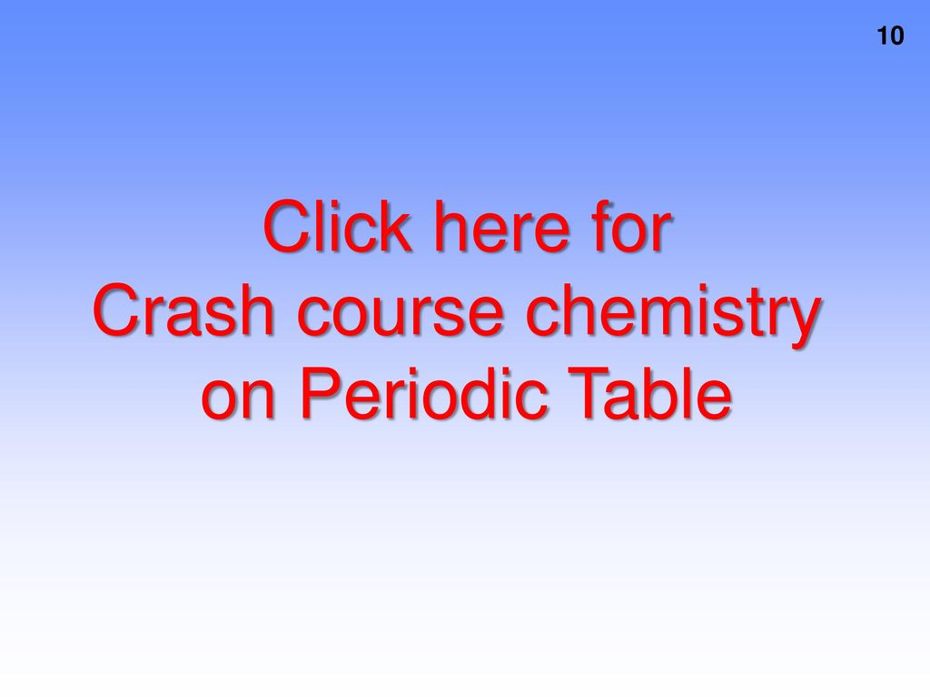 Section 1 Electron Structure And The Periodic Table Ppt Download