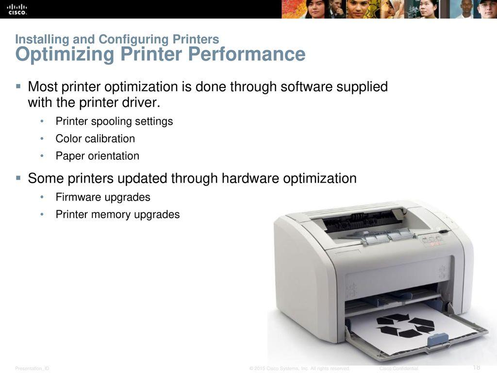 10 Chapter 11: Printers IT Essentials ...
