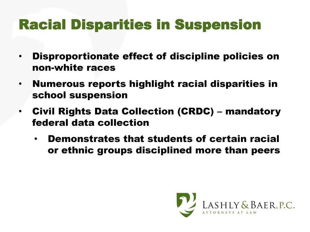 Federal Civil Rights Data Highlight >> Missouri Association Of Secondary School Principals Guidance On The