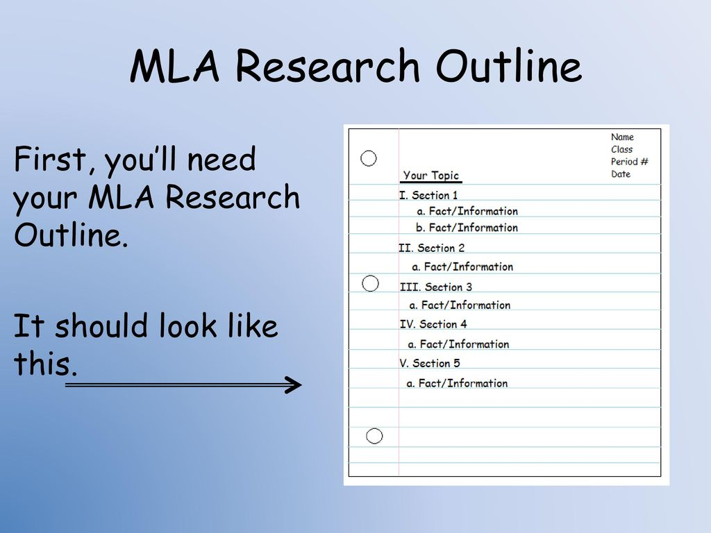 research assignment mla practice Mla format: a class assignment = 20 points mla format: a common format for school assignments is called the mla stylemla stands for modern language association it was created to provide a set of rules for students and academics writing reports and research papers.