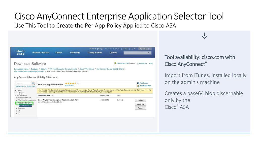 portable cisco anyconnect vpn client