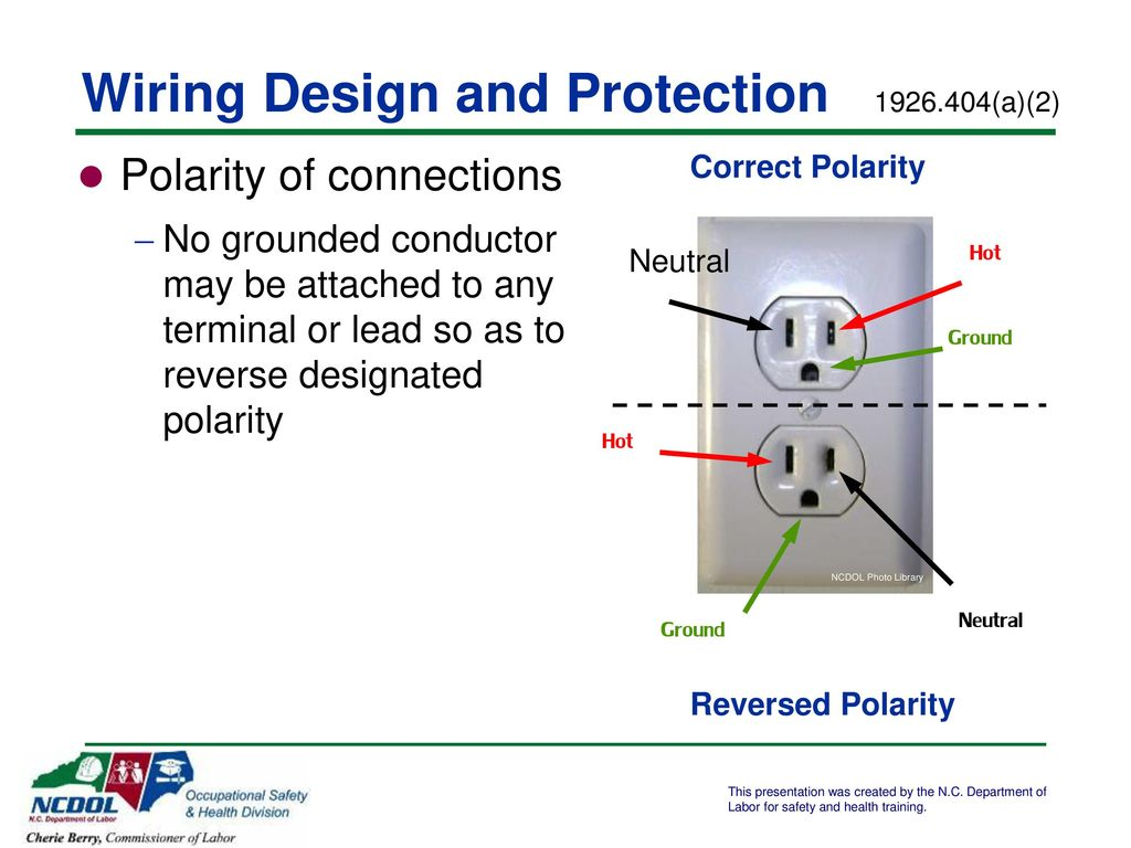 Electrical Safety In Construction Ppt Download Wiring Neutral Hot Ground 14