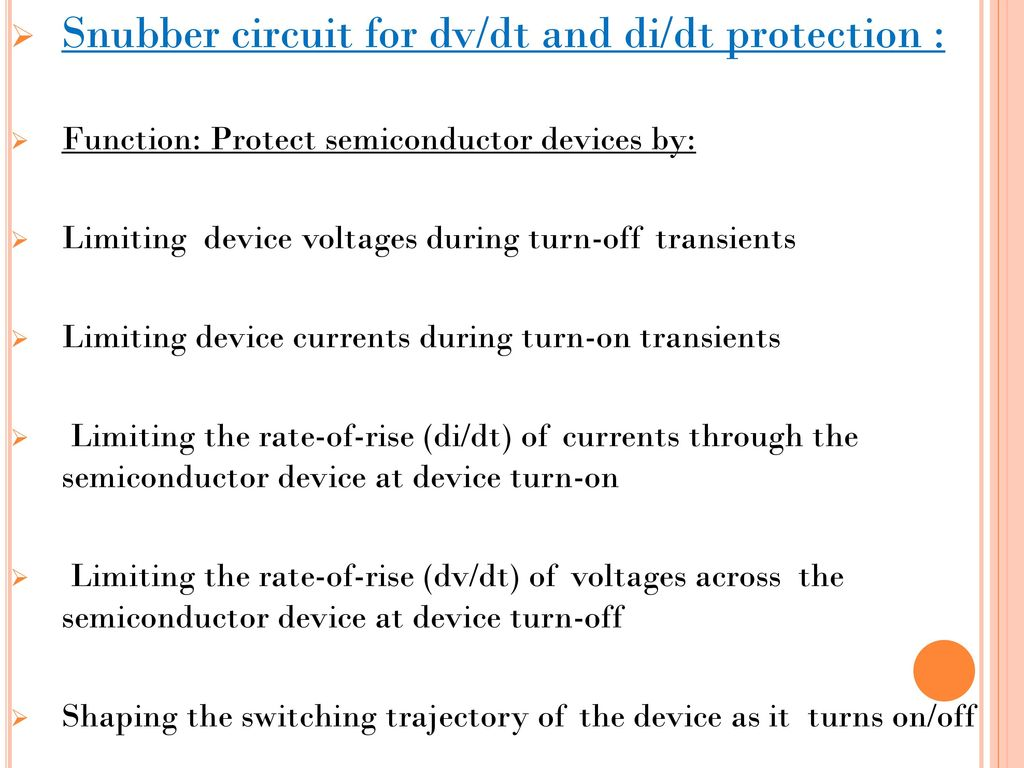 Ahmedabad Institute Of Technology Ppt Download Snubber Circuit Triac 11
