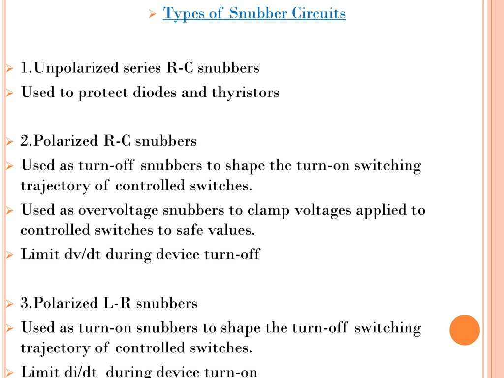Ahmedabad Institute Of Technology Ppt Download Snubber Circuit Triac The Could Be A Types Circuits