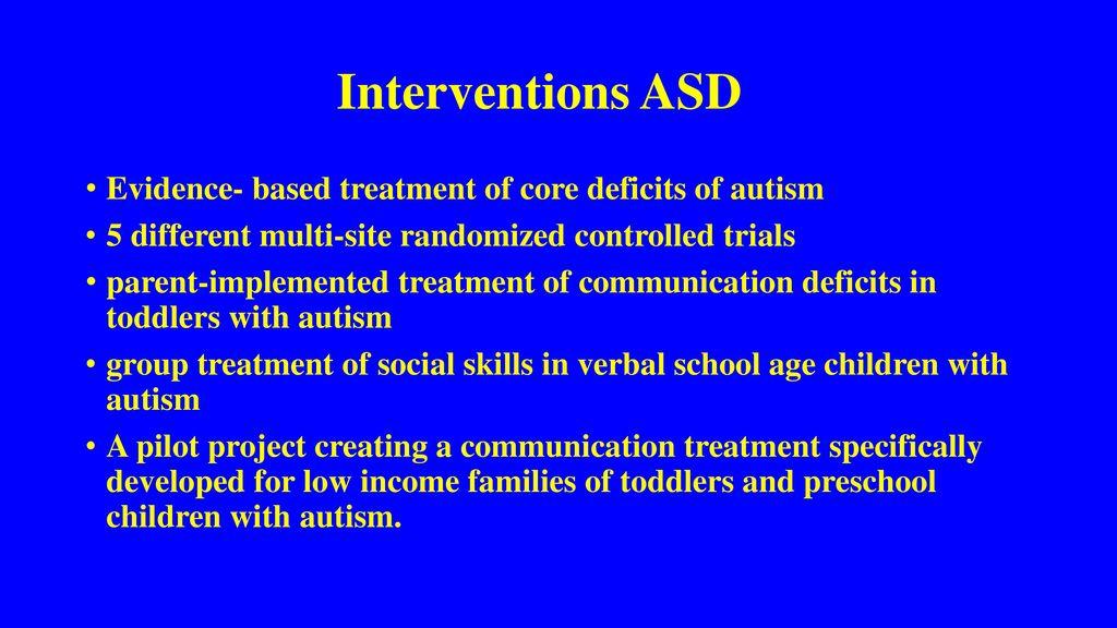 Pilot Intervention Eliminates Autism >> Autism Spectrum Disorder Asd Update Ppt Download