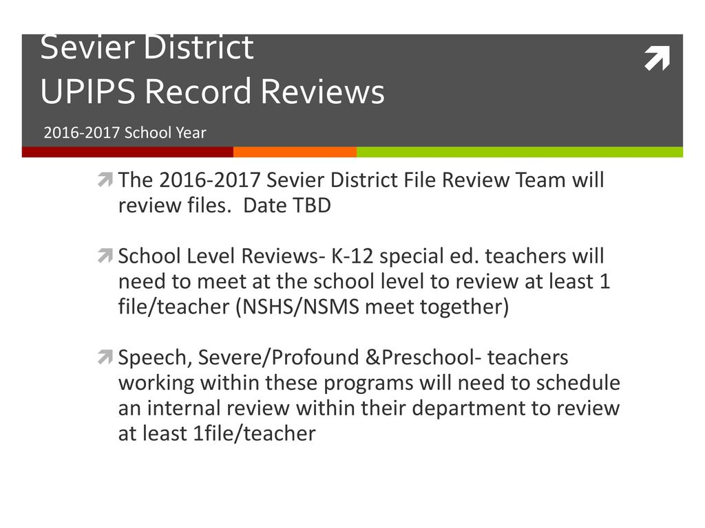 UPIPS Record Review Training - ppt download
