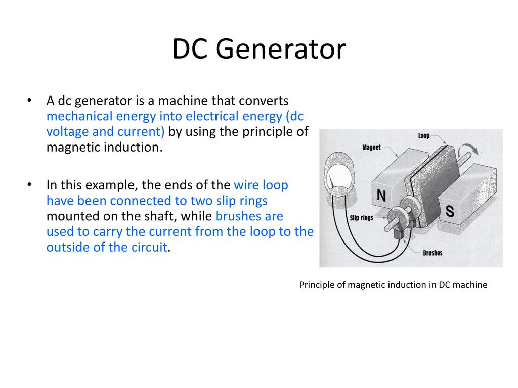 Admirable Dc Ac Machines Ppt Download Wiring Cloud Hisonuggs Outletorg