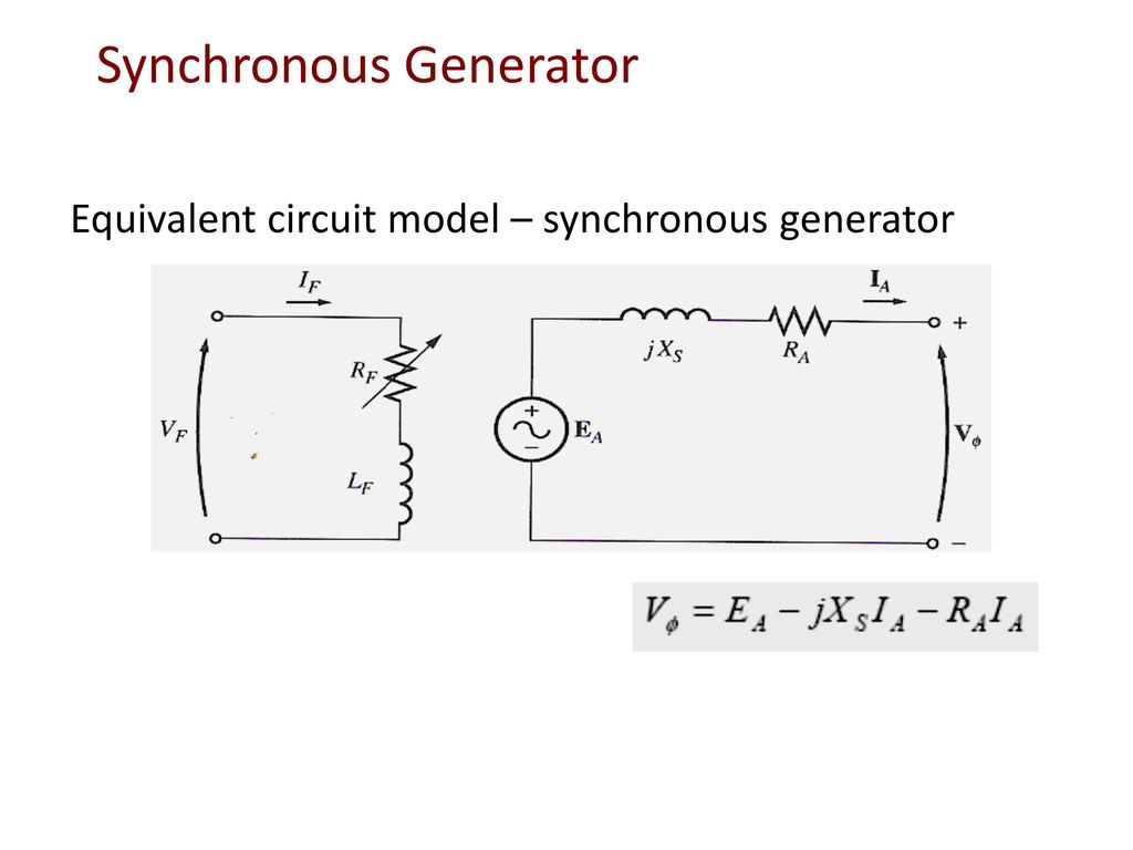 DC & AC MACHINES. - ppt download Ac Synchronous Generator Wiring Diagram on